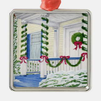 Home for Christmas - Customizable Tree Ornament