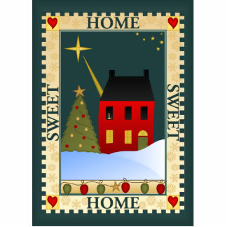 Home For The Holidays Photo Sculpture Decoration