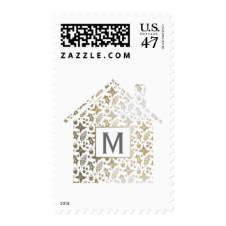 Home for the Holidays Postage Stamp