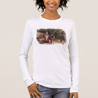 Home from Market (oil on canvas) Long Sleeve T-Shirt