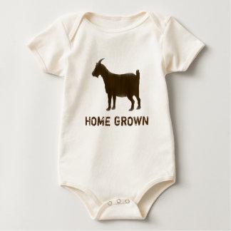 Home Grown Cute Brown Goat Bodysuit