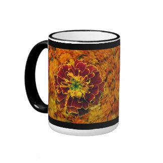 Home Grown Marigold Coffee Cups Ringer Mug