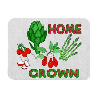 Home Grown Vinyl Magnet