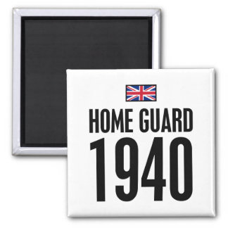 Home Guard 1940 Square Magnet