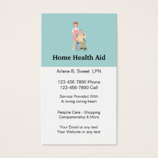 Home health aide business cards flisol home home health aid business cards colourmoves
