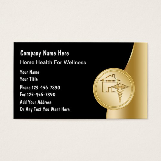 Home Health Business Cards