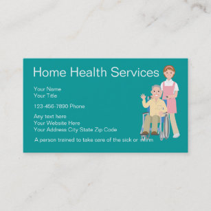 Home Care Business Cards | Zazzle UK