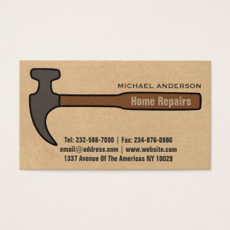 Home Improvement Business Cards - Business Card Printing   Zazzle ...