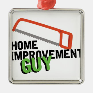 Home Improvement Silver-Colored Square Decoration