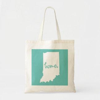 Home Indiana Custom Color Tote Bag