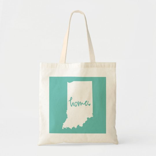Home Indiana Custom Colour Tote Bag