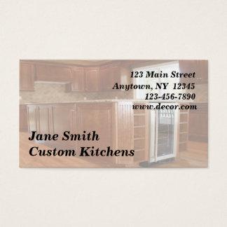 Home Interior Business Card