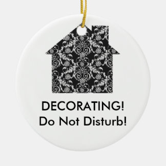 Home Interior Decorator Christmas Ornament