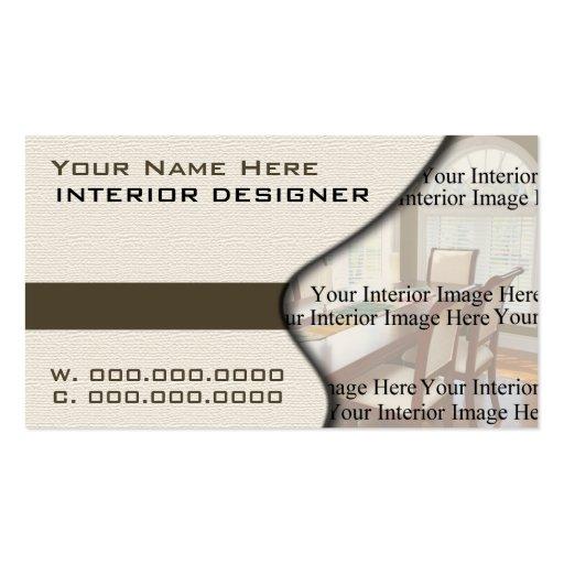 Home Interior Designer Business Cards Zazzle