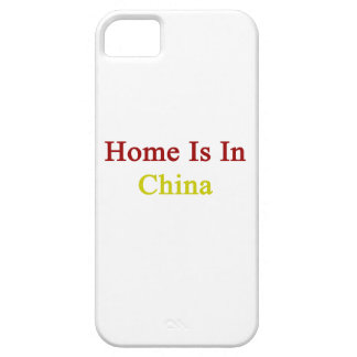 Home Is In China iPhone 5/5S Covers