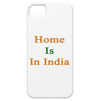 Home Is In India iPhone 5 Cases