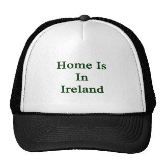 Home Is In Ireland Mesh Hat