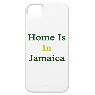 Home Is In Jamaica iPhone 5 Cases