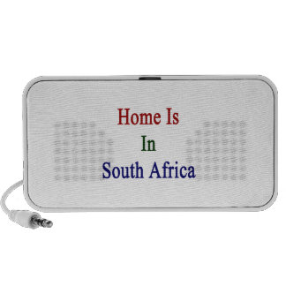 Home Is In South Africa iPhone Speakers