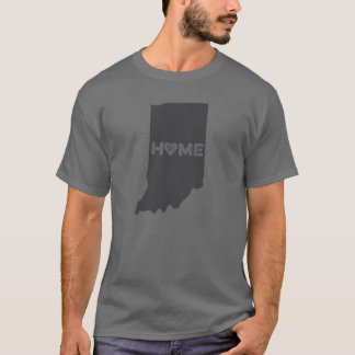 Home is Indiana State Silhouette Shirt
