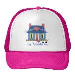 Home Is Vizsla Mesh Hat