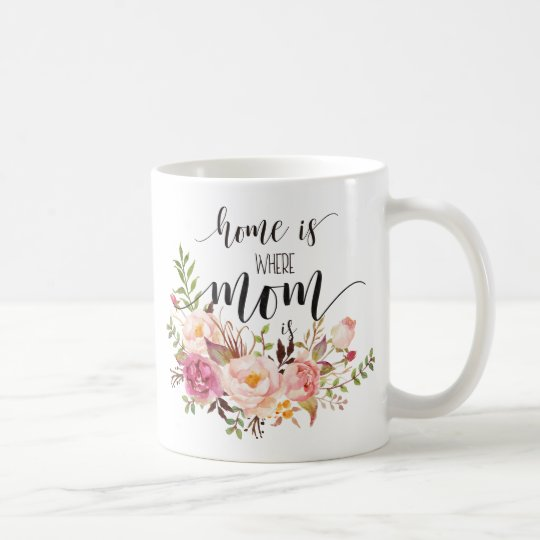 """Home is where mum is"" mother's day/birthday gift"