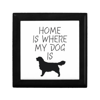 Home is Where my Dog is (Golden Retriever) Gift Box