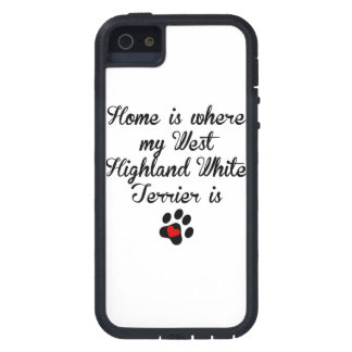 Home Is Where My West Highland White Terrier Is iPhone 5 Covers