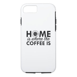 Home Is Where The Coffee Is iPhone 7 Case