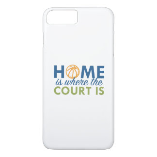 Home Is Where The Court Is iPhone 7 Plus Case
