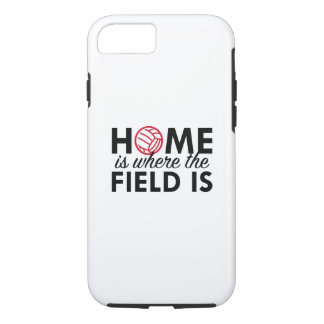 Home Is Where The Field Is iPhone 7 Case