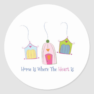 Home Is Where The Heart Is Stickers