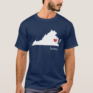 Home is where the heart is - Virginia T-Shirt