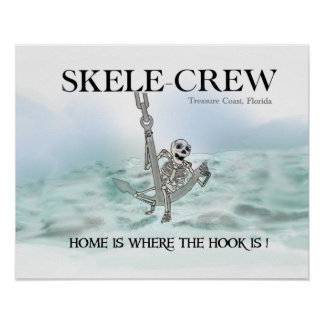 Home is where the hook is! poster