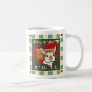 Home is where the Hutch is Coffee Mug