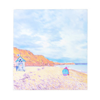 Home is where the Seaglass Is - Seaham England Notepad