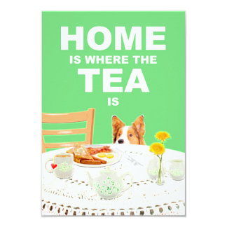 Home is Where the Tea is Housewarming Invitation