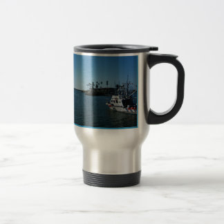 Home Is Where The Water Meets the sky Travel Mug