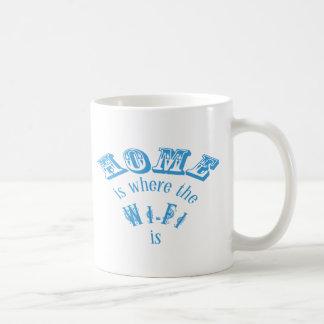 Home is Where the Wifi is. Coffee Mug