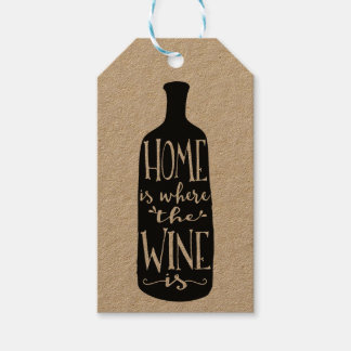 Home Is Where the Wine Is Gift Tags