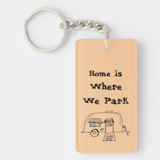 Home is Where we Park Key Ring