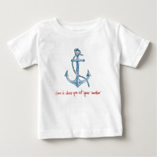Home is Where You Set Your Anchor Baby T-Shirt