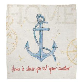 Home is Where You Set Your Anchor Bandana