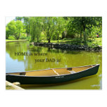 Home is where your Dad is! Post Cards