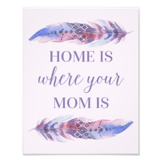 Home Is Where Your Mom Is | Photo Art