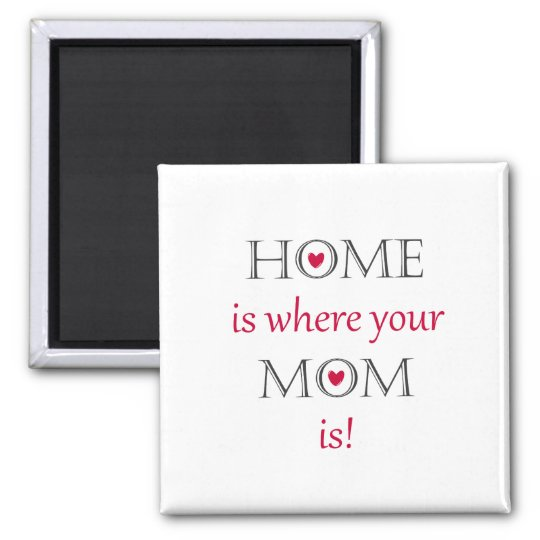 Home Is Where Your Mum Is Magnet