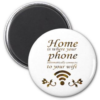 Home is where your phone automatically connects to fridge magnets