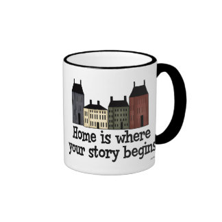 Home Is Where Your Story Begins! Ringer Mug