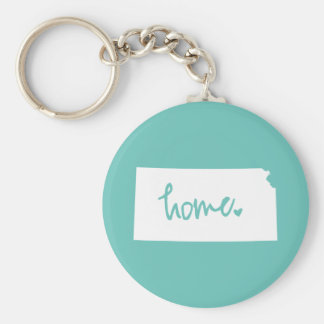 Home Kansas Custom Color Key Ring