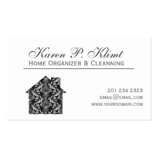 Home Lace Damask Pack Of Standard Business Cards